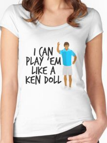 Ken Doll Heart Attack Women's Fitted Scoop T-Shirt