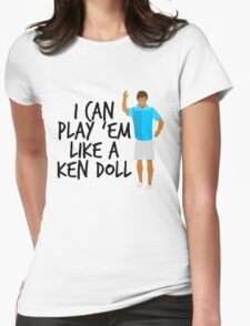 Ken Doll Heart Attack Womens Fitted T-Shirt