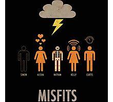 Misfits logo 2 Photographic Print