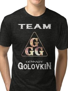 Gennady Golovkin GGG Tri-blend T-Shirt