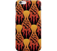 SCORCH pattern [Black] iPhone Case/Skin