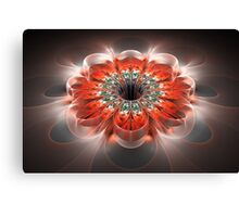Crystal flower Canvas Print