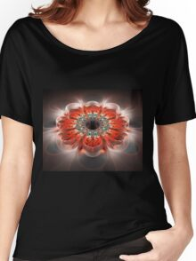 Crystal flower Women's Relaxed Fit T-Shirt