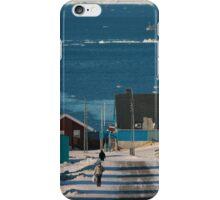 Street in Ilulissat, Greenland iPhone Case/Skin