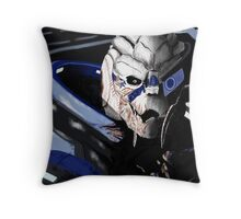 Garrus Vakarian - Mass Effect Throw Pillow