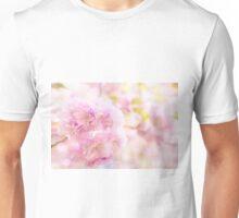 Cute pink cherry blossoms  Unisex T-Shirt