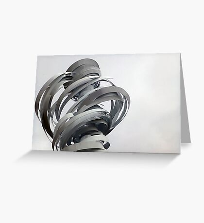 Twister Sculpture Greeting Card