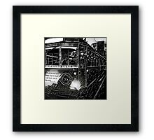 Dreams seen by Man Made Machine: Black Framed Print