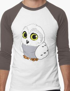 Owl - White Men's Baseball ¾ T-Shirt