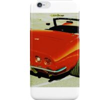 Red Convertible Muscle iPhone Case/Skin
