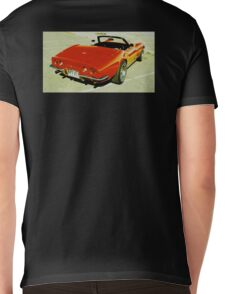 Red Convertible Muscle Mens V-Neck T-Shirt