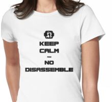Keep Calm - Number 5 - T- Shirt Womens Fitted T-Shirt
