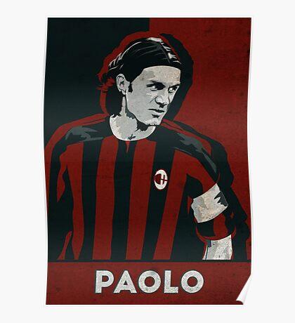 Paolo Maldini Poster