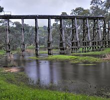 Trestle bridge - Pyalong by athex