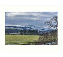 Wensleydale Winter Art Print