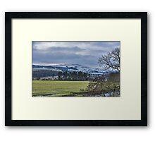 Wensleydale Winter Framed Print