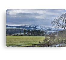 Wensleydale Winter Metal Print