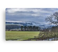 Wensleydale Winter Canvas Print
