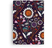 Purple Boheme Canvas Print