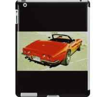 Red Convertible Muscle iPad Case/Skin