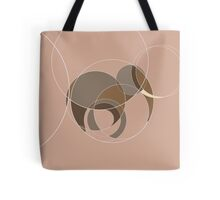 Going round in circles at the zoo - elephant Tote Bag