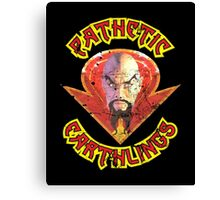 Ming the Merciless - Pathetic Earthlings Distressed Variant Two Canvas Print