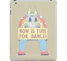 NOW IS TIME FOR DANCE! iPad Case/Skin