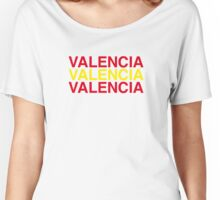 VALENCIA Women's Relaxed Fit T-Shirt