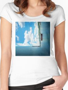 dimension 4 Women's Fitted Scoop T-Shirt
