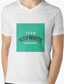 Team Refugees Mens V-Neck T-Shirt