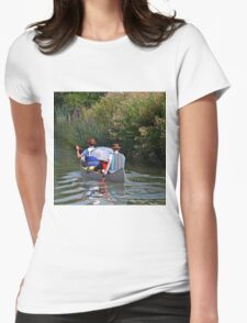 A Cool Way To Travel................... Womens Fitted T-Shirt