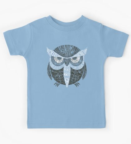 Wise Old Owl Says Kids Tee