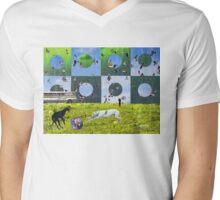 Bittersweet Serenity Mens V-Neck T-Shirt