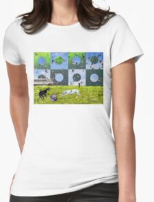 Bittersweet Serenity Womens Fitted T-Shirt