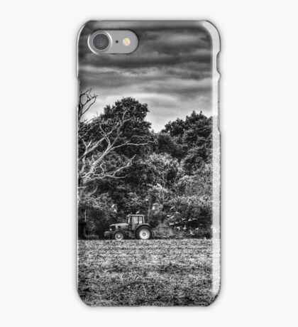 Following The Plough iPhone Case/Skin