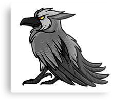 Druid Cuties - Worgen Raven Metal Print