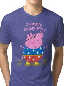 Daddy Champion Tri-blend T-Shirt