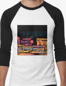 Pike Place Market: Color Men's Baseball ¾ T-Shirt