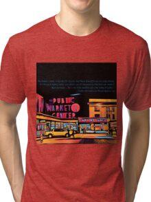 Pike Place Market: Color Tri-blend T-Shirt