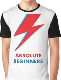 "Original David Bowie ""Absolute beginners"" print Graphic T-Shirt"
