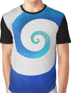 Water Mosaic Graphic T-Shirt