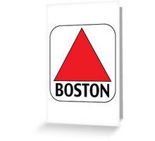 Boston Citgo Greeting Card