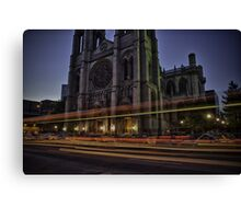 The Evening Rush Canvas Print