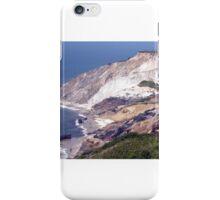 Aquinnah Clay Cliffs iPhone Case/Skin