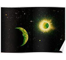 Green Moon Poster