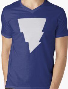 Mage Lightning Bolt Mens V-Neck T-Shirt