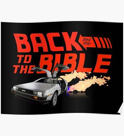 Back to the Bible: Bible Study Poster