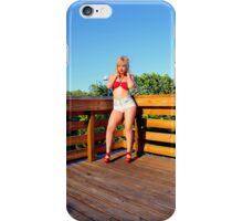 Sexy bikini girl iPhone Case/Skin