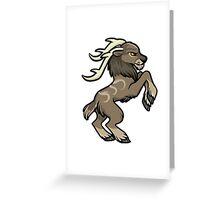 Druid Cuties - Tauren Stag Greeting Card