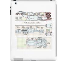 Serenity Firefly floorplan schematics iPad Case/Skin